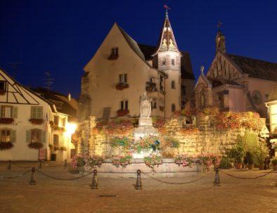 Eguisheim nuit